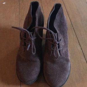 ColeHahn Wedge booties